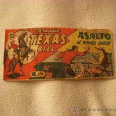 Livros de Banda Desenhada: TEXAS BILL Nº 23, EDITORIAL HISPANO AMERICANA. Lote 35575067