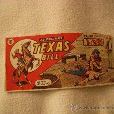 Livros de Banda Desenhada: TEXAS BILL Nº 107, EDITORIAL HISPANO AMERICANA. Lote 35575220