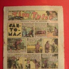 Tebeos: TIM TYLER Nº 105 (DE 113). HISPANO AMERICANA DE EDICIONES, SEPTIEMBRE DE 1938. VER FOTOS. Lote 35503668