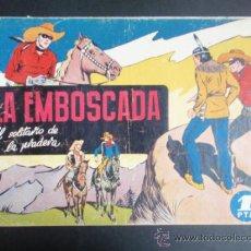 Tebeos: LA EMBOSCADA. HISPANO AMERICANA. JINETE ENMASCARADO Nº 4. ORIGINAL.. Lote 35640872