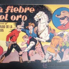 Tebeos: LA FIEBRE DEL ORO. HISPANO AMERICANA. JINETE ENMASCARADO Nº 5. ORIGINAL.. Lote 35641079