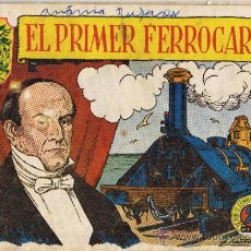 Tebeos: EL PRIMER FERROCARRIL - HISTÒRIA I LLEGENDA - Nº 15 - EN CATALÀN. Lote 35780468