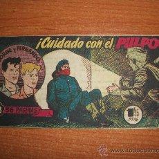 Tebeos: JORGE Y FERNANDO Nº 108 EDITORIAL HISPANO AMERICANA 1949 ORIGINAL . Lote 36098248