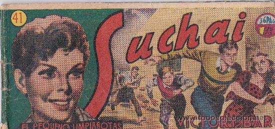 Tebeos: lote de 10 Suchai , el pequeño limpiabotas - Foto 8 - 36046168