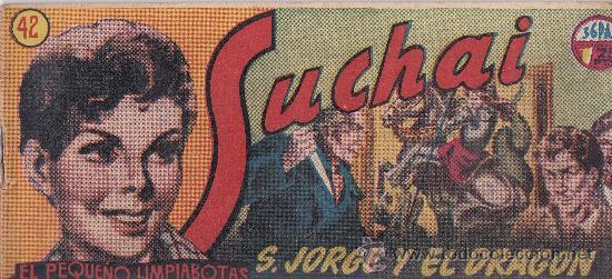 Tebeos: lote de 10 Suchai , el pequeño limpiabotas - Foto 9 - 36046168