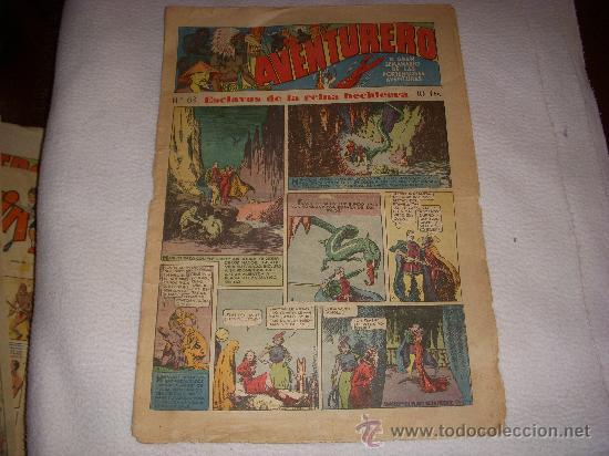AVENTURERO Nº 63, EDITORIAL HISPANO AMERICANA (Tebeos y Comics - Hispano Americana - Aventurero)
