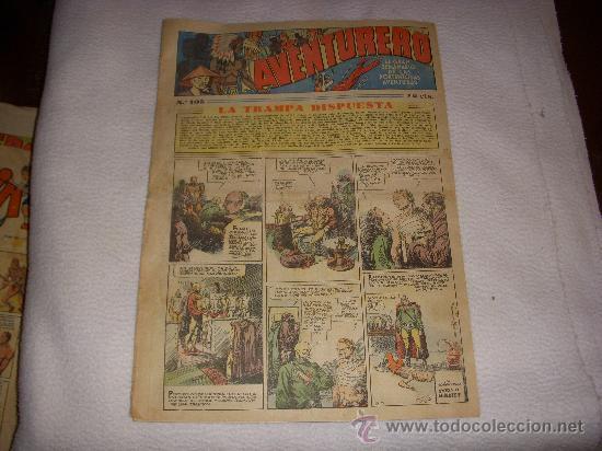 AVENTURERO Nº 105, EDITORIAL HISPANO AMERICANA (Tebeos y Comics - Hispano Americana - Aventurero)