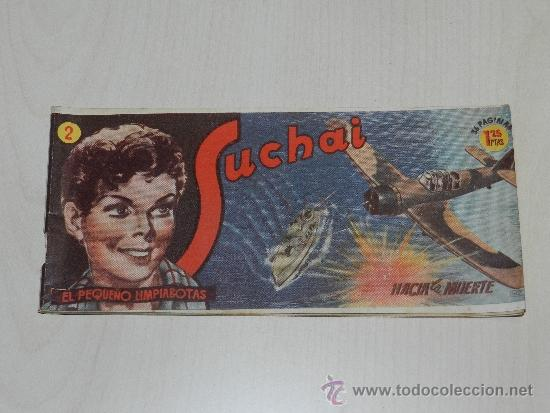 (M-19) SUCHAI NUM 2 - EDC HISPANO AMERICANA ( ORIGINAL ) (Tebeos y Comics - Hispano Americana - Suchai)