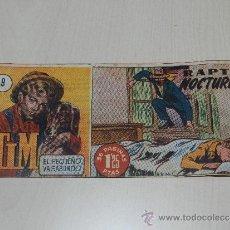Tebeos: (M-1) TIM EL PEQUEÑO VAGABUNDO NUM 9 - EDC HISPANO AMERICANA, . Lote 36241292