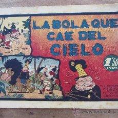 Tebeos: LA BOLA QUE CAE DEL CIELO - EL PROFESOR MAGNUS CONTRA EL DOCTOR CICUTA - HISPANO AMERICA 1945. Lote 36474918