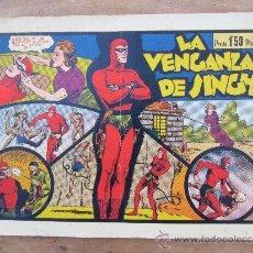 Tebeos: HOMBRE ENMASCARADO , NUMERO 2 - LA VENGANZA DE SINGH , HISPANO AMERICANA 1941. Lote 36475235