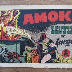 Tebeos: AMOK , NUMERO 27 LLUVIA DE FUEGO - HISPANO AMERICANA - ORIGINAL. Lote 36487947