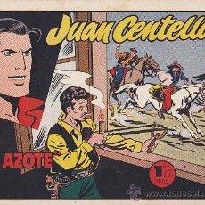 Tebeos: COMIC JUAN CENTELLA EL AZOTE. Lote 36488300
