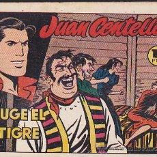 Tebeos: COMIC JUAN CENTELLA RUGE EL TIGRE. Lote 36488321