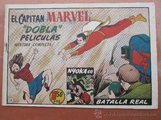 EL CAPITAN MARVEL - NUMERO 59 HISPANO AMERICANA (Tebeos y Comics - Hispano Americana - Capitán Marvel)