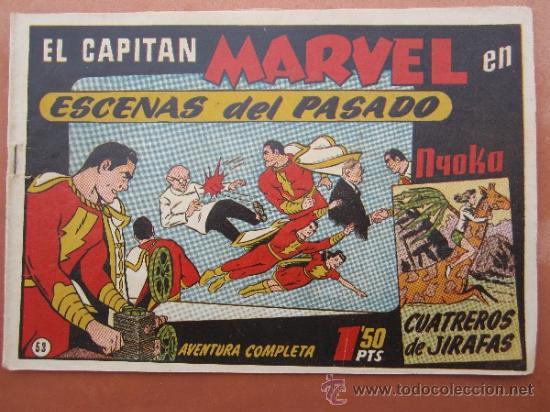 EL CAPITAN MARVEL - NUMERO 53 HISPANO AMERICANA (Tebeos y Comics - Hispano Americana - Capitán Marvel)