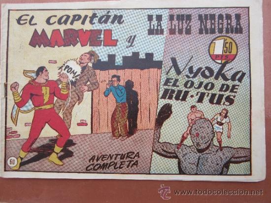 EL CAPITAN MARVEL - NUMERO 60 HISPANO AMERICANA (Tebeos y Comics - Hispano Americana - Capitán Marvel)