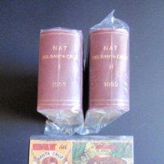 Tebeos: NAT DEL SANTA CRUZ. 1952. COMPLETA. ORIGINAL. HISPANO-AMERICANA. 57 CUADERNILLOS. ENCUADERNADA.. Lote 36562197