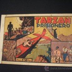 Tebeos: TARZAN PRISIONERO - Nº 7 - HISPANO AMERICANA - ORIGINAL - . Lote 36693586