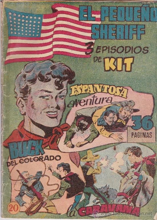 EL PEQUEÑO SHERIFF Y SUCHAI ,EDICION VERTICAL. (Tebeos y Comics - Hispano Americana - Otros)