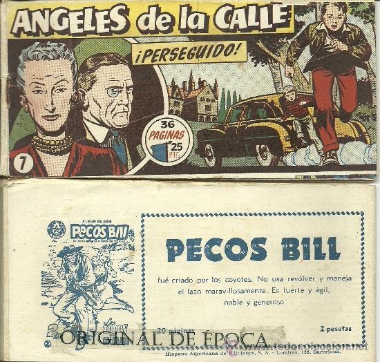 (COM-15)ANGELES DE LA CALLE DE HISPANO AMERICANA A 9 EUROS LA UNIDAD SOLICITA TUS FALTAS (Tebeos y Comics - Hispano Americana - Otros)