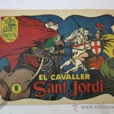 Tebeos: TEBEO HISTORIA I LLEGENDA - Nº 6 EL CAVALLER SANT JORDI - HISPANO AMERICANA - CATALAN . Lote 36922066
