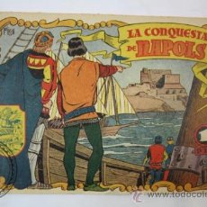 Tebeos: TEBEO HISTORIA I LLEGENDA - Nº 8 LA CONQUESTA DE NAPOLS - HISPANO AMERICANA - CATALAN . Lote 36922113