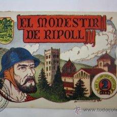 Tebeos: TEBEO HISTORIA I LLEGENDA - Nº 10 EL MONESTIR DE RIPOLL - HISPANO AMERICANA - CATALAN . Lote 36922188