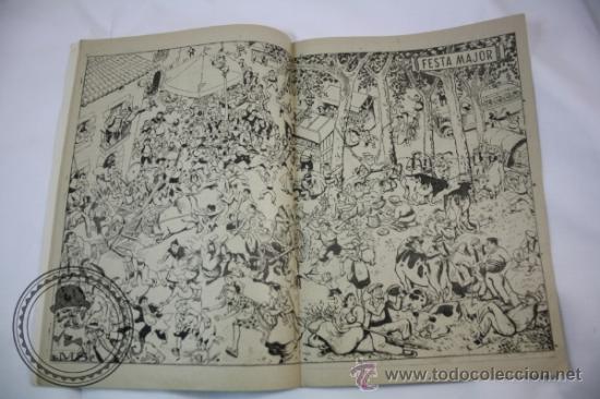 Tebeos: Publicación Infantil Els Infants i els Jocs Numero 5 - Catalan - Hispano Americana - - Foto 2 - 36919975