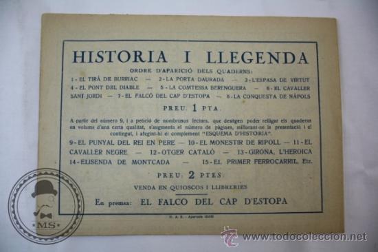 Tebeos: Tebeo Historia i Llegenda - Nº 6 El Cavaller Sant Jordi - Hispano Americana - Catalan - Foto 3 - 36922066