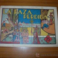 Tebeos: CARLOS EL INTREPIDO Nº LA RAZA PERDIDA DE HISPANO AMERICANA . Lote 37336558