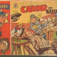 Tebeos: TEBEOS-COMICS GOYO - AUDAZ Nº 38 Nº MUY DIFICIL - HISPANOAMERICANA 1949 ROY D'AMI *UU99. Lote 37543729