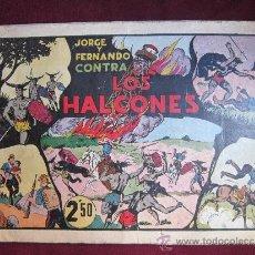 Tebeos - JORGE Y FERNANDO CONTRA LOS HALCONES. ESPECIAL 24 X 35 cm .HISPANO AMERICANA ORIGINAL 1942 - 37548675