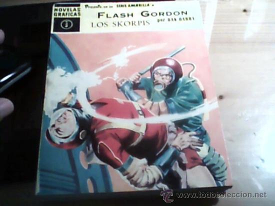 FLASH GORDON 4 TEBEOS (Tebeos y Comics - Hispano Americana - Flash Gordon)
