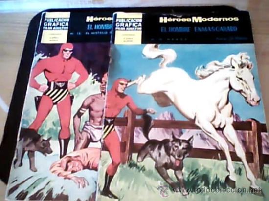 EL HOMBRE ENMASCARADO 2 TEBEOS (Tebeos y Comics - Hispano Americana - Hombre Enmascarado)