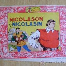 Tebeos: TEBEO NICOLASÍN NICOLASÓN, #11 DE COLECCIÓN MERCEDES. HISPANO AMERICANA. Lote 37810820