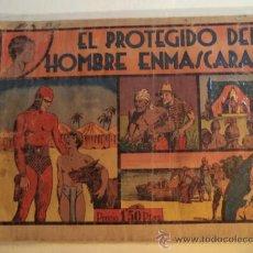 Tebeos: EL PROTEGIDO DEL HOMBRE ENMASCARADO. Lote 38026542