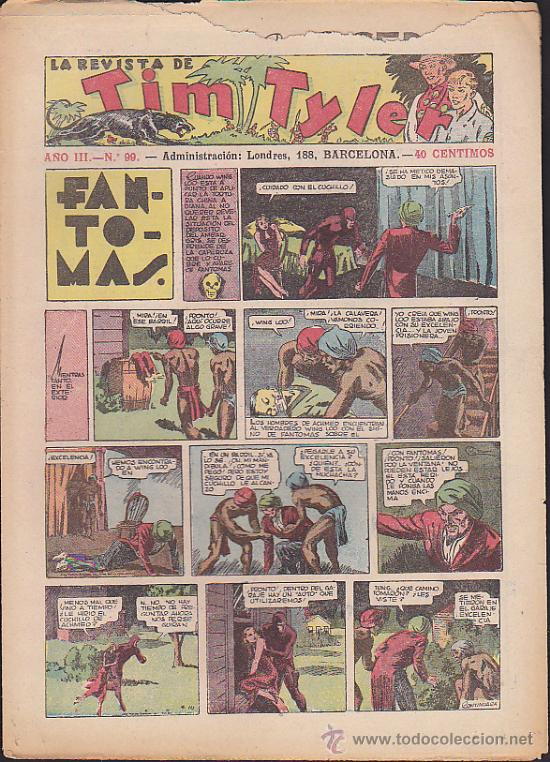 COMIC TIM TYLER Nº 99 (Tebeos y Comics - Hispano Americana - Tim Tyler)