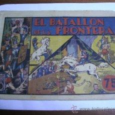 Tebeos: CARLOS EL INTRÉPIDO Nº 5 / EL BATALLÓN DE LA FRONTERA / HISPANOAMERICANA ORIGINAL. Lote 38329278