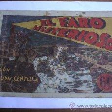 Tebeos: JUAN CENTELLA / EL FARO MISTERIOSO / HISPANO AMERICANA ORIGINAL. Lote 38359625
