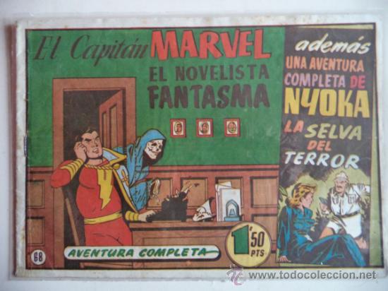 EL CAPITAN MARVEL.ORIGINAL Nº68 (Tebeos y Comics - Hispano Americana - Capitán Marvel)