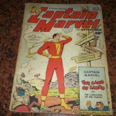 Tebeos: CAPTAIN MARVEL USA. 1949 EL ESTADO QUE SE VE FAWCETT COMICS. Lote 38713500