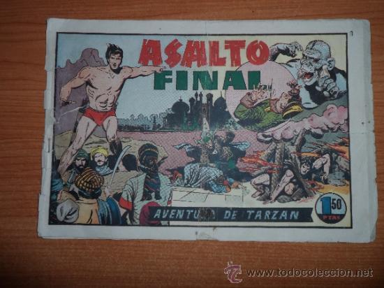 TARZAN Nº 41 EDITORIAL HISPANO AMERICANA 1942 20X32 ORIGINAL (Tebeos y Comics - Hispano Americana - Tarzán)