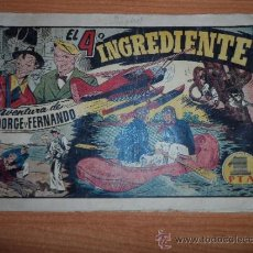 Comics - JORGE Y FERNANDO Nº 53 EDITORIAL HISPANO AMERICANA 1942 20X32 ORIGINAL - 38898974