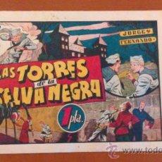 Livros de Banda Desenhada: JORGE Y FERNANDO**LAS TORRES DE LA SELVA NEGRA Nº 44** HISPANO AMERICANA** ORIGINAL AÑOS 40. Lote 39588536
