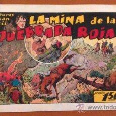 BDs: AVENTURAS DE JUAN Y LUIS Nº 11 ** LA MINA DE LA QUEBRADA ROJA ** H. AMERICANA* ORIGINAL AÑOS 40. Lote 39604052