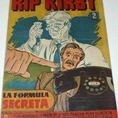 Tebeos: RIP KIRBY Nº 8 - HISPANO AMERICANA 1948 - ORIGINAL - LEER TODO. Lote 38976134