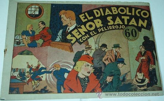 RICARDO BARRIO EL PELIRROJO Nº 3 - EDIT. HISPANO AMERICANA - 1941 ORIGINAL- LEER TODO (Tebeos y Comics - Hispano Americana - Otros)