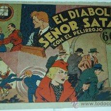 Tebeos: RICARDO BARRIO EL PELIRROJO Nº 3 - EDIT. HISPANO AMERICANA - 1941 ORIGINAL- LEER. Lote 39018178