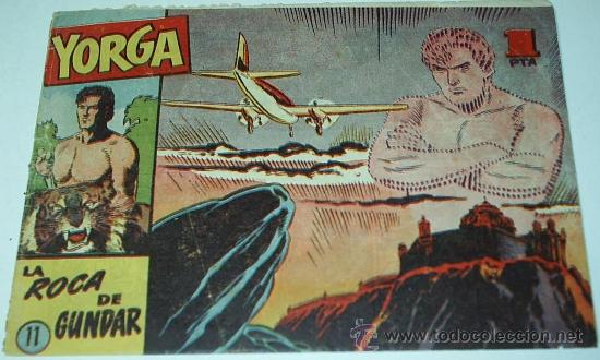 YORGA Nº 11 - HISPANO AMERICANA - ORIGINAL 1950- LEER (Tebeos y Comics - Hispano Americana - Otros)